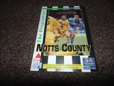 Notts County v Chesterfield, 1996/97
